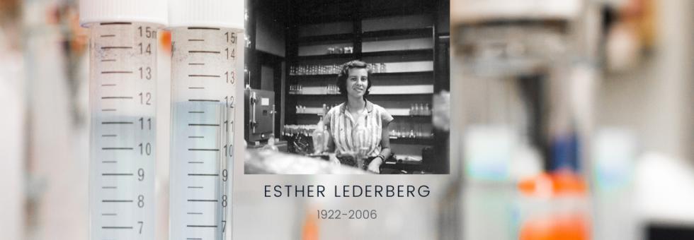 Photo courtesy of the Esther M. Zimmer Lederberg Memorial Website estherlederberg.com